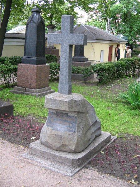 Матюшкин Ф.Ф. могила Некрополь мастеров искусств